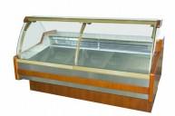 Vitrina frigorifica Santiago-lemn